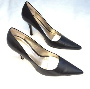 Nine West Leather heels pumps shoes